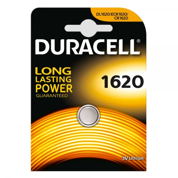 Duracell Lithium CR1620 button cell (1 blister)