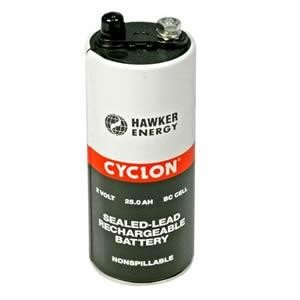 Hawker EnerSys Cyclon 0860-0004 2V 4.5Ah (10h) lead battery DT cell