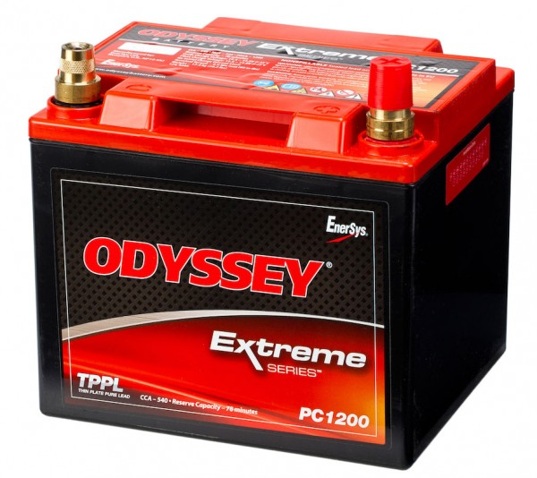 Odyssey PC1200 12V 42Ah 540A AGM Starter battery pure lead - PC1200T