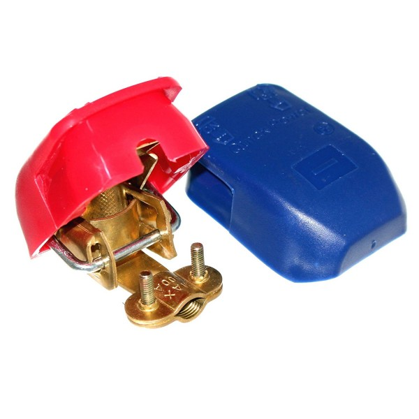 Quick-release pole clamps for automotive posts (1 pair)