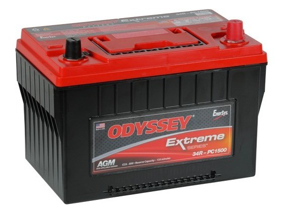 Odyssey 34R-PC1500 12V 68Ah 850A AGM Starter Battery and Supply Battery Pure Lead