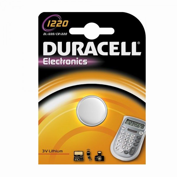 Duracell Lithium CR1220 button cell (1 blister)