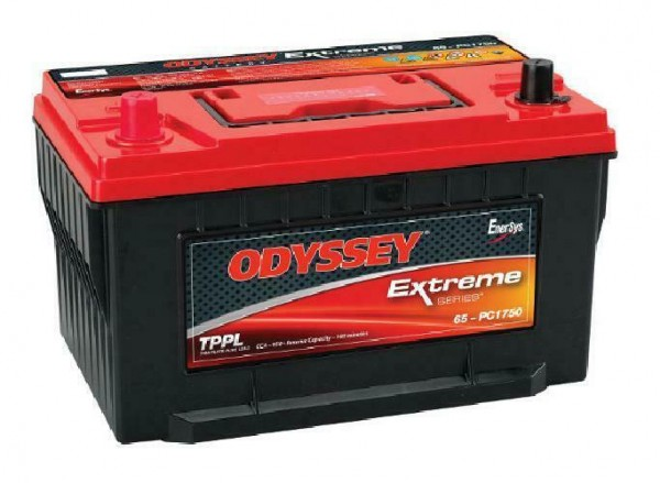 Odyssey PC1750 12V 74Ah 950A AGM Starter battery and supply battery Pure lead