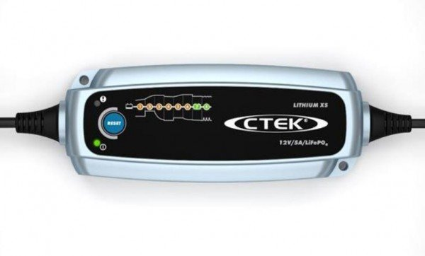 CTEK Lithium XS Battery Charger for LifePo4 Lithium 12V 5A