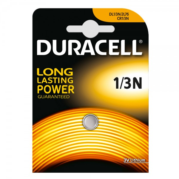 Duracell LITHIUM DL 1/3N CR11108 photo battery (1 blister)