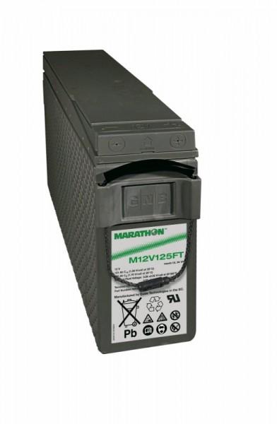 Exide Marathon M12V125FT 12V 121Ah UL94-V0 Front terminal AGM lead fleece battery VRLA
