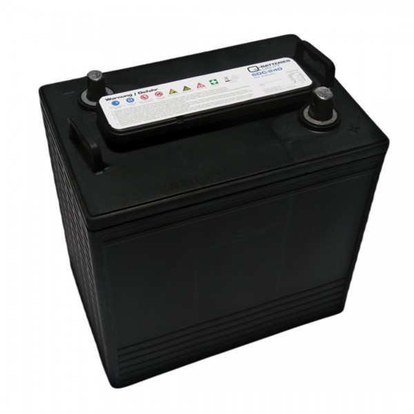 Q-Batteries 6DC-240 6V 240Ah Deep Cycle Traction Battery