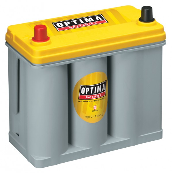 Optima Yellow Top YT S - 2.7, 12V 38Ah, AGM battery SpiralCell Technologie®