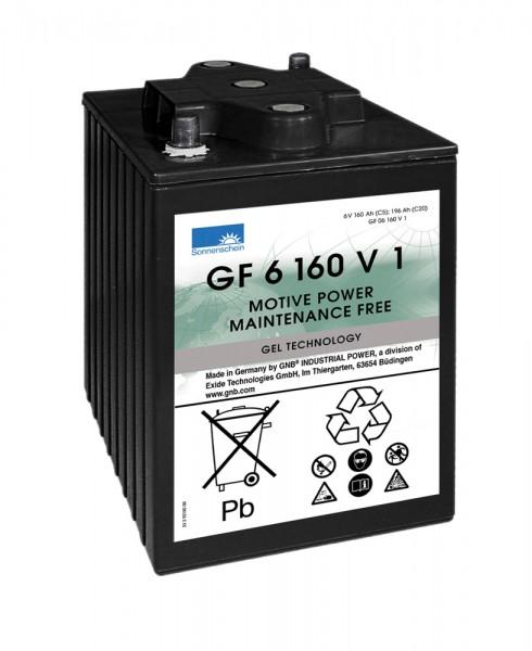 Exide Sonnenschein GF 06 160 V1 dryfit lead gel traction battery 6V 160Ah (5h) VRLA