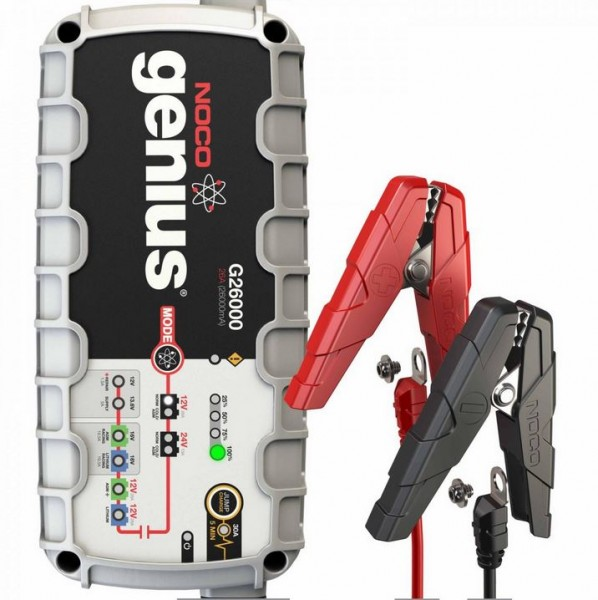 Noco Genius multifunction charger G26000 EU 12V/ 24V 26A for lead and lithium batteries up to 500Ah